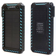 Some solar chargers have USB port which can be used for charging. But, some devices are more power hungry and will require an adapter for fast and effective charging. So, go on and hover the cursor and scroll down the top 10 best solar phone chargers. Solar Powered Phone Charger, Solar Phone Chargers, Solar Charger, Solar Panel Battery, Solar Panels, Winter Driving Tips, Camping Equipment, Walkie Talkie, Survival Skills