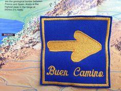 Patch for pilgrims on the Camino De Santiago