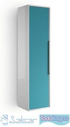 Muebles auxiliares para lavabos - Pilar Salgar Colours   http://www.todobagno.com/comprar-muebles-de-bano-online-salgar-colours