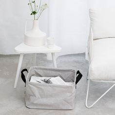 Ultra-cool Foldable Laundry Basket - Grey - New Summer/Spring - Our collections. #Brabantia