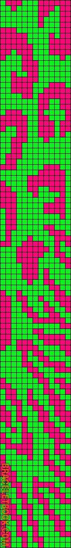 Alpha Friendship Bracelet Pattern #11018 - BraceletBook.com