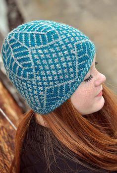 undergrowth. free knitty pattern. hostas as inspiration.