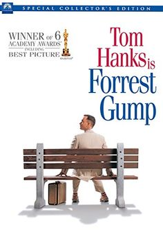 Forrest Gump is a 1994 American epic romantic comedy-drama film based on the 1986 novel of the same name by Winston Groom. The film was directed by Robert Zemeckis and starred Tom Hanks, Robin Wright, Gary Sinise and Sally Field. Dvd Film, Film Serie, Film Music Books, Dvd Dvd, Gary Sinise, Robin Wright, Tom Hanks, See Movie, Movie Tv