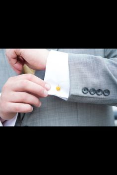 Our wedding colors: navy, white, gold, and gray Wedding Colors, Our Wedding, Cufflinks, White Gold, Gray, Rose, Board, Accessories, Pink