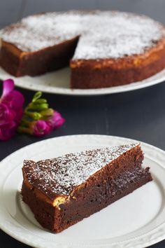 Brownie-Cheesecake Schokoladenkuchen