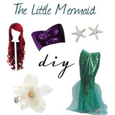 """Halloween Costumes: Ariel from The Little Mermaid"" by turquoiseivy on Polyvore"