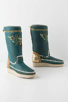 Fiore Shearling Boots - Anthropologie.com