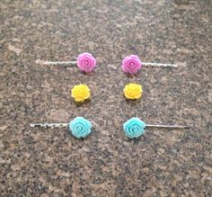 New color hair pins/ bobby pins added today.