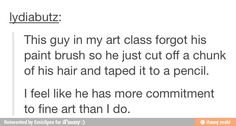 True art student / iFunny :)