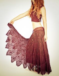 I need this pattern....crochet skirt