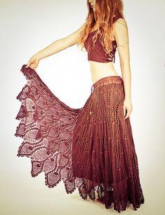 I need this pattern....crochet skirt