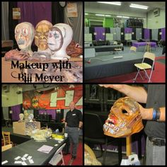 Knotts Scare School Makeup