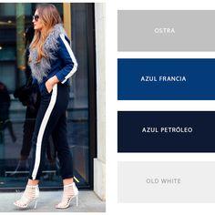 Cómodo y elegante, estos atributos se combinan en un look que deslumbra #PrendeteAlColor   Buzo ART 1301 Frisa ALG 100  Color Francia Leggings ART 1401 Frisa ALG POLY  Color Azul Petróleo