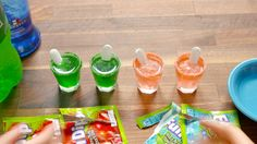 Fun Dip Shots will take you and your squad back to the '90s - fun times fo real.