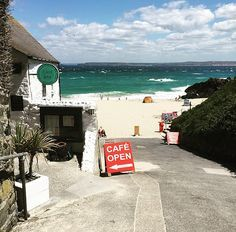 The Porthmeor Beach Cafe, St Ives 17 Breathtaking Places To Eat In Cornwall Cornwall England, Devon And Cornwall, St Ives Cornwall, England Uk, Newquay Cornwall, Cornwall Breaks, St Ives England, Places In Cornwall, West Cornwall