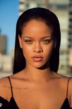 "Rihanna celebrated the launch of her Fenty beauty line in NYC. Rihanna announced that she would be releasing a beauty line called ""Fenty Beauty"" and it's Rihanna Fenty Beauty, Rihanna Makeup, Rihanna Riri, Rihanna Style, Rhianna Fashion, Moda Rihanna, Rihanna News, Good Girl Gone Bad, Black Women"