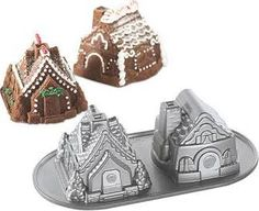 Nordic Ware Gingerbread House Bundt® Cake - Google Search