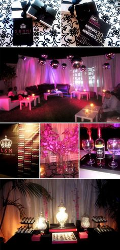Night club theme decoration you may book one or more for 30th birthday decoration packages