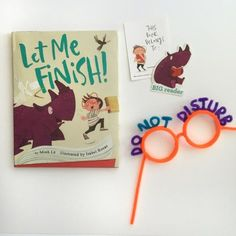 let me finish! + reading glasses craft