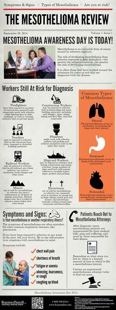 2014 Mesothelioma Awareness Day Inforgraphic