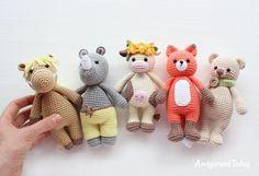 Cuddle Me Toys - Free amigurumi patterns designed by Amigurumi Today