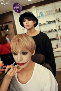 Jungkook and V - Halloween 2014