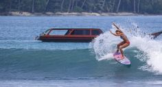 Tassy Swallow in the Mentawais, her new video is on the SurfGirl website