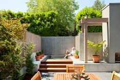 Found all of these photo's on Houzz. Killer App. Courtyard Comforts Make a Seattle Backyard a private get-a-way
