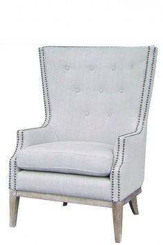 This kind of chair/the mint green chair in my bedroom at home. With the frame painted white or gilded.