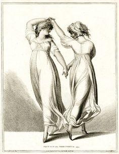 Emma, Lady Hamilton, dancing the tarantella  by William Lock & Mariano Bovi, London, 1796 Dames a la Mode