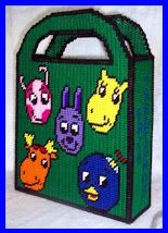 TOTE * BACKYARDIGANS by TRICIA 1/2