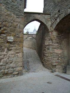 Gateway Carcasonne, France by kathleenhughes82, via Flickr  #monogramsvacation