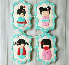Kokeshi Cookies