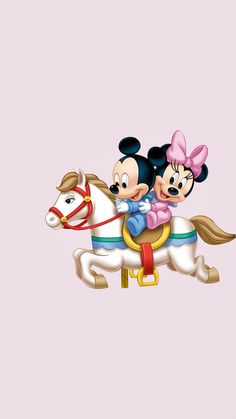 Disney Films, Walt Disney, Disney Characters, Baby Mickey, Mickey Minnie Mouse, Minnie Mouse Pictures, Disney Phone Wallpaper, Mickey And Friends, Cute Pictures