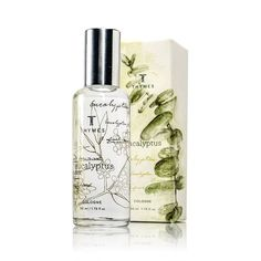 Thymes Eucalyptus Unisex Cologne  1.75-Ounce Bottle 100% Authentic NIB #Thymes