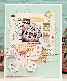 #papercraft #scrapbook #layout by Jen Jockisch