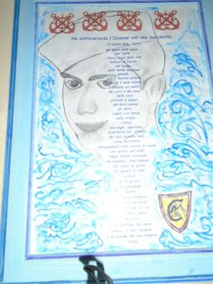 NERO SU BIANCO   di Maria Antonietta  : Poesia...ho attraversato l'oceano con una barchett...