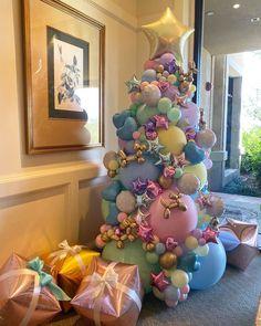 Balloon Tree, Balloon Backdrop, Balloon Gift, Balloon Bouquet, Balloon Garland, Birthday Balloon Decorations, Birthday Balloons, Xmas Decorations, Birthday Party Themes