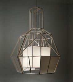 Vederlicht Hanging Lamp by Daniel Hulsbergen