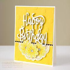 Happy Birthday Gorgeous - Charlet Mallett, balloon streamers turned into flowers! Happy Birthday Friend, Happy Birthday Images, Happy Birthday Greetings, Birthday Wishes, Sister Birthday, Birthday Diy, Handmade Birthday Cards, Greeting Cards Handmade, Happy Birthday Gorgeous