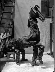 Picasso-Pablo « Los Ballets Rusos horse