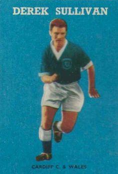 Derek Sullivan of Cardiff City in 1958.