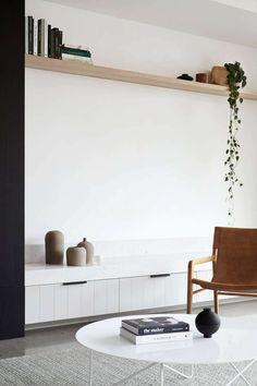 Fairfield House by Heartly Living Room Nook, Living Room Tv, Home And Living, Living Spaces, Australian Interior Design, Interior Design Awards, Australian Home Decor, Fairfield House, Living Room Inspiration