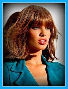 frangia 2015 capelli medi - Cerca con Google