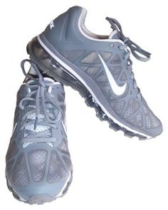 2b324c337bd5 Nike Airmax Silver Grey Athletic Shoes  65 Fancy Shoes