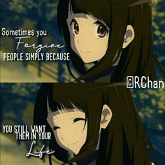 Sad Anime Quotes, Girl Quotes, True Quotes, Words Quotes, Qoutes, Inspirational Quotes For Girls, Hyouka, Anime People, Random Quotes