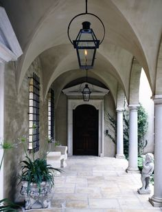 italian loggia entrance door by mcalpine tankersley