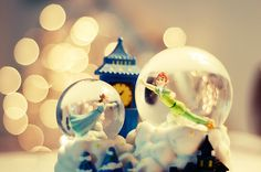 need to add this to my collection of peter pan snowglobes!