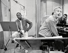 Miles Davis and Gil Evans, Quiet Nights session [1962]