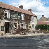 .. being a short stroll from the village pub (The Grapes Inn, Great Habon, near Malton) North Yorkshire